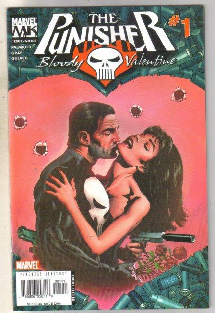 Punisher Bloody Valentine One-Shot mint 9.8