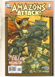 Amazons Attack #1 comic book near mint 9.4