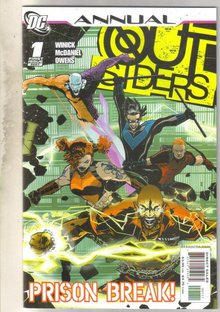 Outsiders Annual #1 comic book mint 9.8