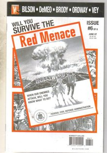 Red Menace #6 comic book mint 9.8