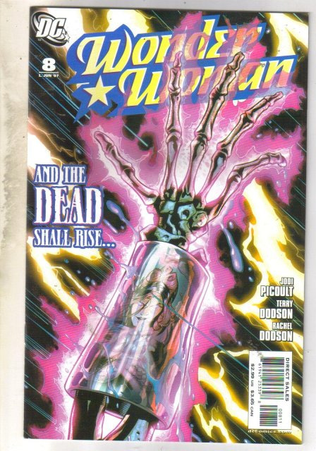 Wonder Woman #8 comic book near mint 9.4