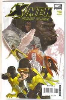 X-Men First Class #8 comic book mint 9.8