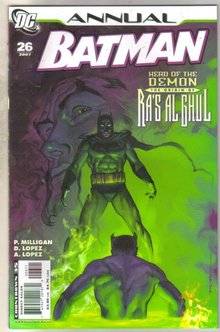 Batman Annual #26 comic book mint 9.8