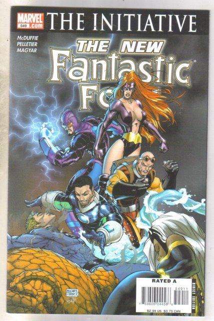 Fantastic Four #549 comic book mint 9.8