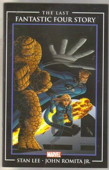 The Last Fantastic Four Story #1 comic book near mint 9.4