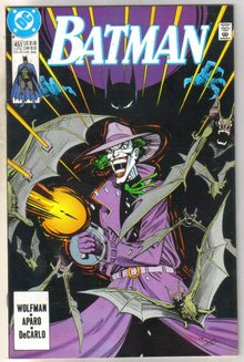 Batman #451 comic book near mint 9.4
