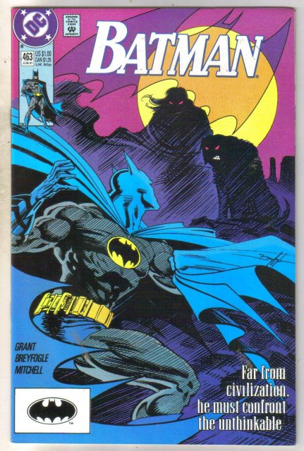 Batman #463 comic book near mint 9.4