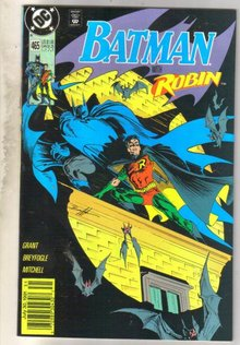 Batman #465 comic book near mint 9.4