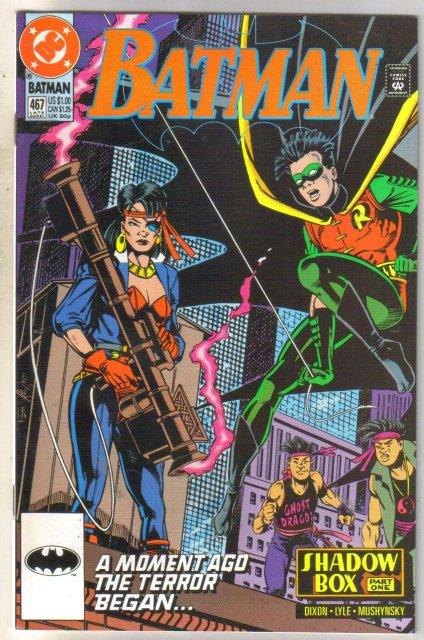 Batman #467 comic book mint 9.8