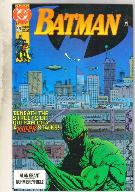 Batman #471 comic book mint 9.8
