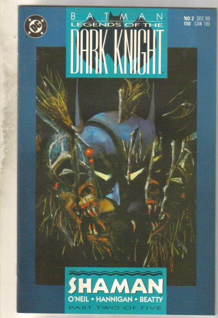 Batman Legends of the Dark Knight #2 comic book mint 9.8