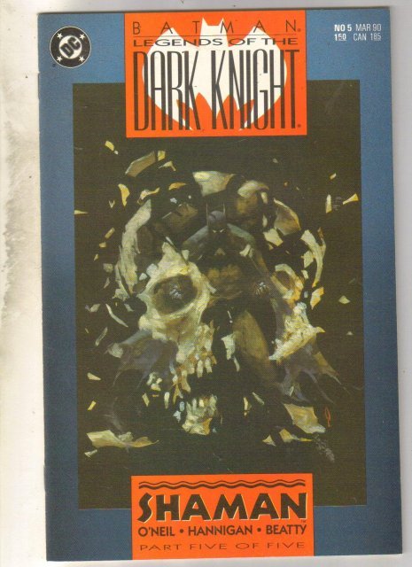Batman Legends of the Dark Knight #5 comic book mint 9.8