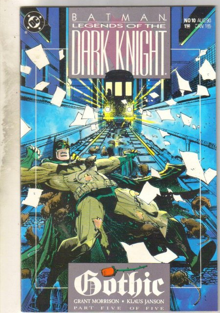 Batman Legends of the Dark Knight #10 comic book mint 9.8
