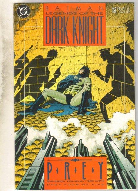 Batman Legends of the Dark Knight #14 comic book near mint 9.4
