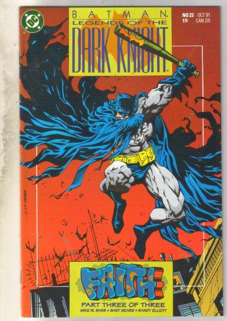 Batman Legends of the Dark Knight #23 comic book mint 9.8