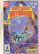 Batman And The Outsiders #3 comic book near mint 9.4