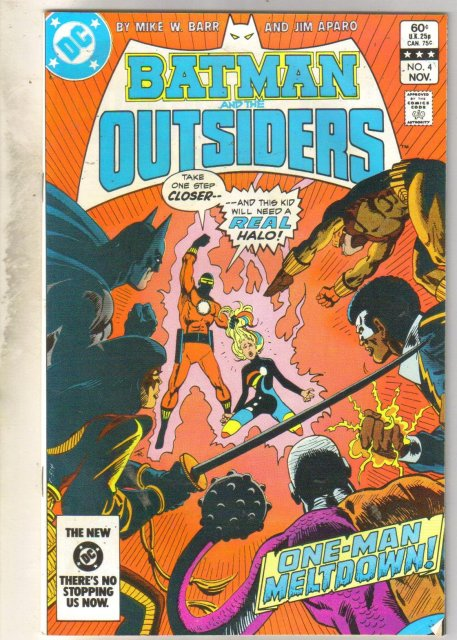 Batman And The Outsiders #4 comic book near mint 9.4