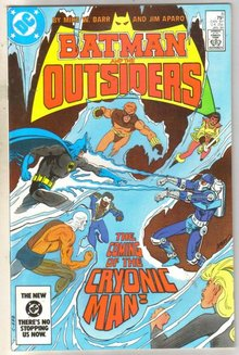 Batman And The Outsiders #6 comic book near mint 9.4