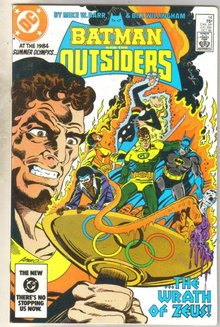 Batman And The Outsiders #14 comic book near mint 9.4