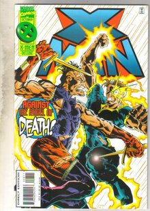 X-Man #8 comic book near mint 9.4