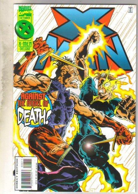 X-Man #8 comic book near mint 9.4