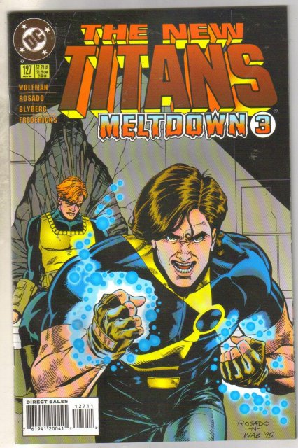 The New Titans #127 comic book mint 9.8
