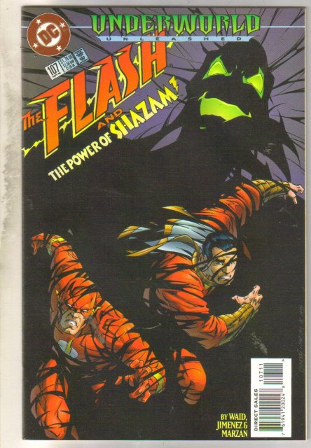The Flash #107 comic book mint 9.8