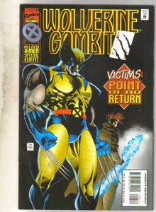 Wolverine Gambit #4 comic book mint 9.8