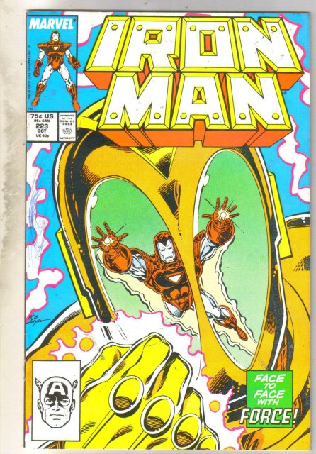 Iron Man #223 comic book near mint 9.4