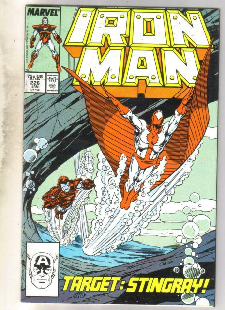 Iron Man #226 comic book near mint 9.4