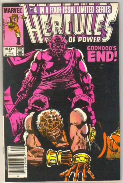 Hercules Prince of Power #4  comic book very fine 8.0