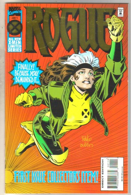 Rogue #1 comic book near mint 9.4