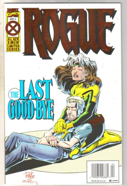 Rogue #4 comic book very fine 8.0