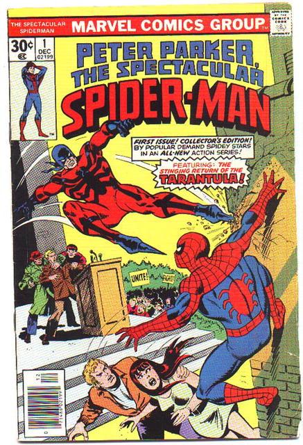 Spectacular Spider-man comic #1 fine 6.0