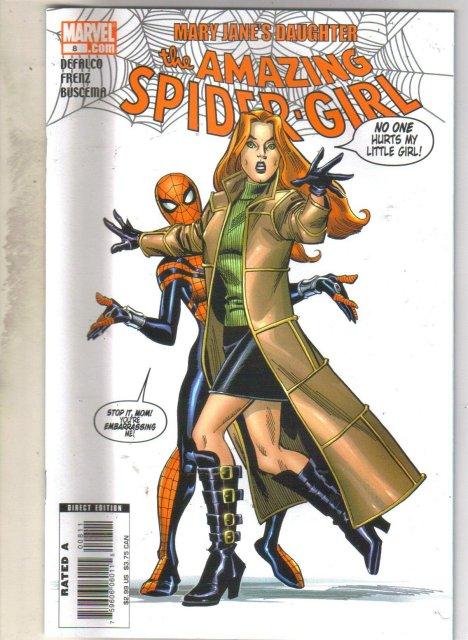Amazing Spider-girl #8 comic mint 9.8