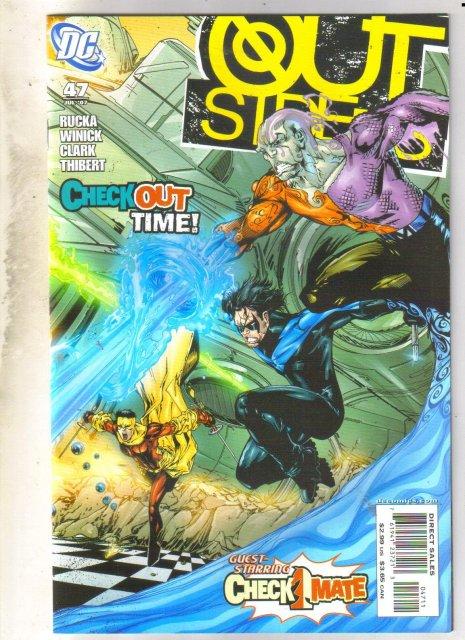 Outsiders #47 comic mint 9.8