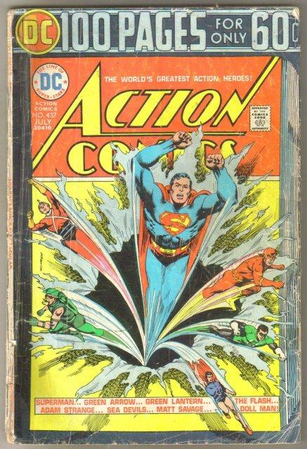 Action Comics #437 comic book good 2.0