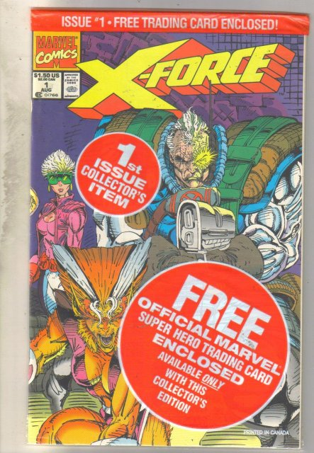 X-Force #1 comic book unopened mint 9.8