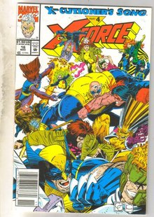 X-Force #16 comic book mint 9.8