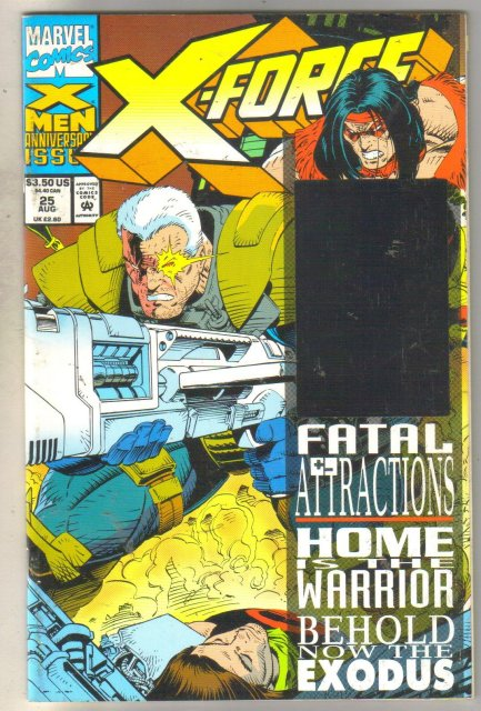 X-Force #25 comic book near mint 9.4
