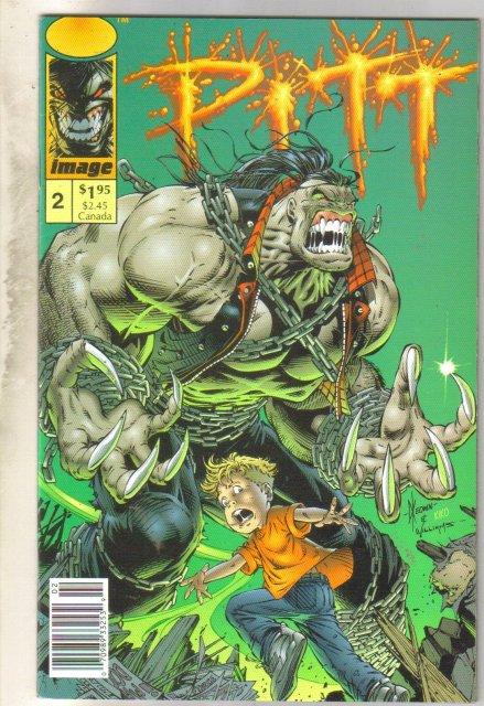 Pitt #2 comic book near mint 9.4