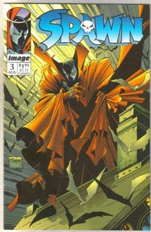 Spawn #3 comic book near mint 9.4
