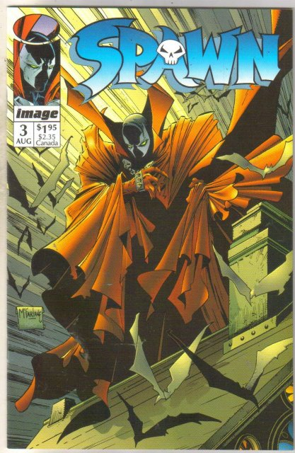 Spawn #3 comic book near mint 9.4