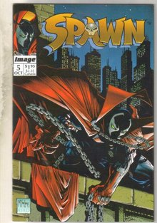 Spawn #5 comic book near mint 9.4