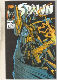 Spawn #7 comic book near mint 9.4