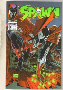 Spawn #8 comic book near mint 9.4