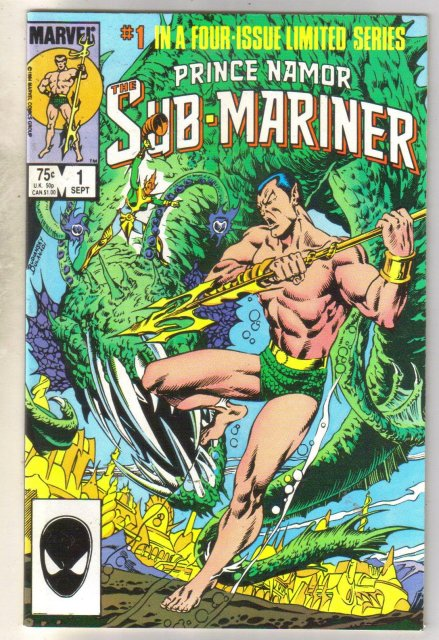 Prince Namor The Sub-Mariner #1 comic book very fine 8.0