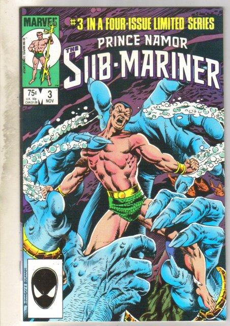 Prince Namor The Sub-Mariner #3 comic book near mint 9.4