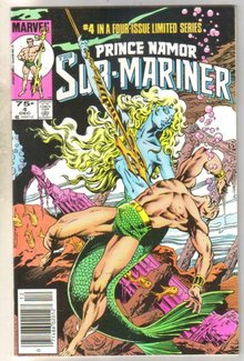 Prince Namor The Sub-Mariner #4 comic book near mint 9.4