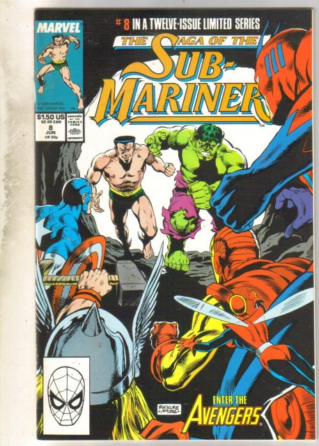 The Saga of the Sub-Mariner #8 comic book mint 9.8